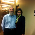 Jim with Dr. Azita